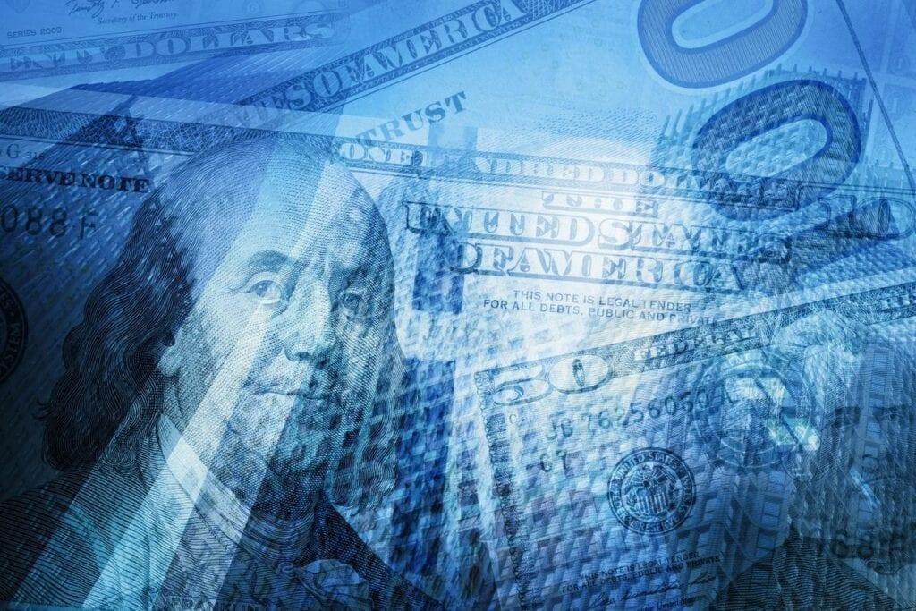 money debt background